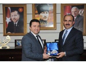 Selçuklu Belediye Başkanı Uğur İbrahim Altay'ın Bozüyük ziyareti