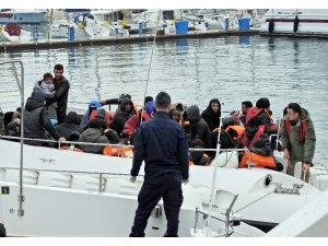 Aynı botta 9 farklı ülkeden göçmen
