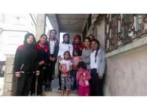 Siirt'te yoksul ailelere yardım