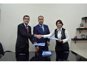 Biga'da kardeş okul protokolü  imzalandı
