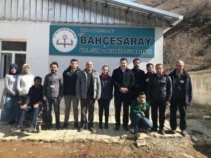 Kaymakam Özcan'ın kurum ziyaretleri devam ediyor