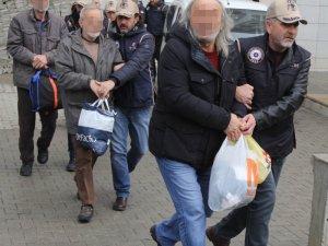 Samsun'da terör propagandasından gözaltına alınan 6 kişi adliyeye sevk edildi
