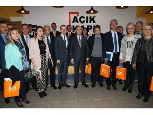Adana'da 'Açık Kapı' projesi başladı
