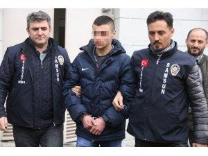 Samsun'da kafe önünde 4 kişiyi tüfekle yaralayan genç yakalandı