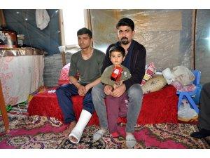 Afrin gazisi memleketi Mersin'e getirildi