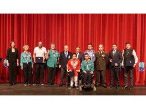 Türkiye'de ilk ve tek olan 'Gökkuşağı Engelli İzci Grubu', Dünya İzci Düşünce Günü'nü kutladı