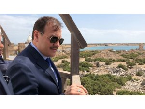 Başbakan Yardımcısı Çavuşoğlu, Sevakin'de