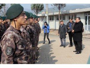 Afrin yolcusu özel harekat polisleri Kocaeli'den dualarla uğurlandı