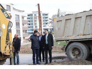 Tokat Belediyesi 2018 yılında 70 bin ton asfalt dökecek