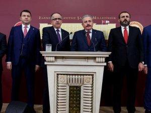 AK Parti- MHP ittifakı paketi Meclis'te