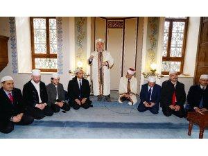 Tarihi Nasrullah Camisinde Zeytin Dalı operasyonu için Fetih Suresi okundu