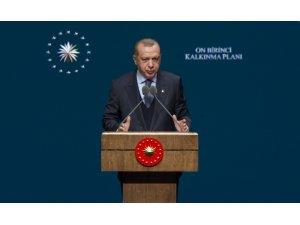 """Cumhurbaşkanı Erdoğan: """"Kimseye muhtaç olmadan kendi göbeğimizi kestik"""""""