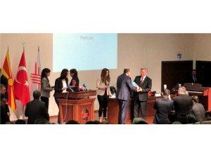 Rektör Durmuş, Makedonya'da konferansa katıldı