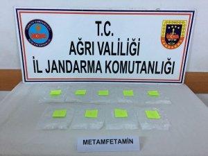 Ağrı'da kaçak sigara içerisinde metamfetamin ele geçirildi