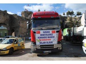 Afrin'deki kahraman Mehmetçik için 25 ton Eğirdir elması