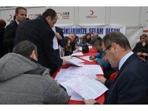 """Mehmetçiğe """"Kan Bağışı"""" ile destek"""