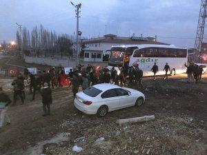 Özel Harekat polisleri Iğdır'dan Afrin'e uğurlandı