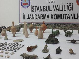 Roma ve Bizans dönemlerine ait bin 981 tarihi eser kurtarıldı