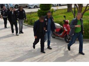 Milas'ta tefeci operasyonu: 2 tutuklama