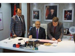 Buharkent Anadolu Lisesi için imzalar atıldı
