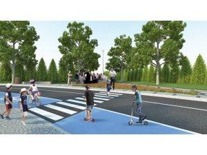 Sivas'ta çocuklar için trafik eğitim parkı
