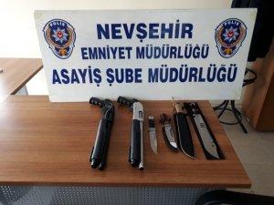 Sosyal paylaşım sitesinden silah satan kişi yakalandı