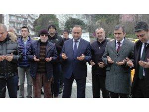 Akçakoca'da Adliye taksi dualarla açıldı