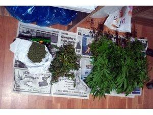 Korkuteli'nde uyuşturucu operasyonu