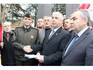 Muhtarlardan mehterli askerlik başvurusu