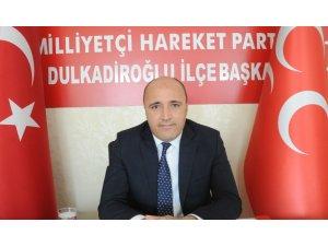 """MHP'li Akpınar: """"KSÜ'ye yerli ve milli rektör istiyoruz"""""""