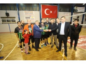 Voleybol turnuvasında Halk Özel Harekatı birinci oldu