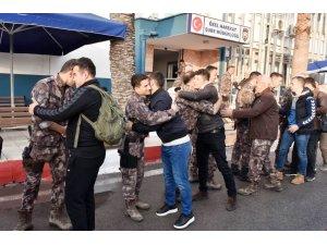 Mersin'de özel hareket polisleri Afrin'e uğurlandı