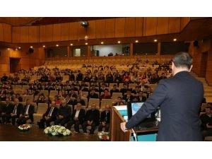 """Rize'de """"İrfani Geleneğimiz ve Hoca Ahmet Yesevi Konferansı"""" yapıldı"""