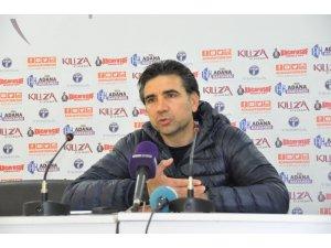 """Osman Özköylü: """"Şanslıydık son dakika golü galibiyeti getirdi"""""""