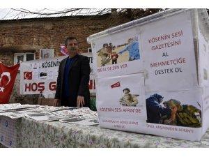 Köse'nin Sesi gazetesinden Afrin duyarlılığı