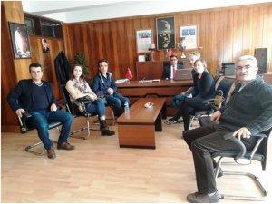 Slovenyalı proje ortakları Aydın'a geldi