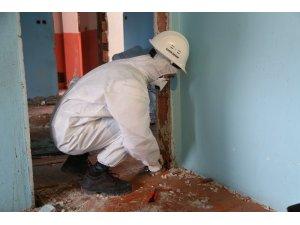 Bağcılar'da asbest testi yapılmadan bina yıkımı yapılmıyor