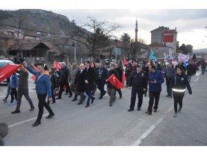 Afrin'e destek için yürüdüler