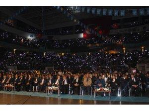 'Sevdamız Türkiye' gecesine binler katıldı
