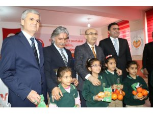 Adana'da öğrencilere 6 ton narenciye dağıtılacak