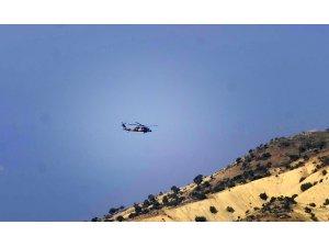 Suriye sınır hattında helikopter hareketliliği