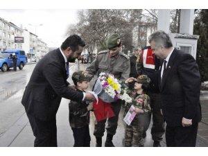 Minik kalplerden Afrin Harekatı'na kocaman destek