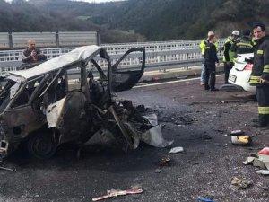 Bursa'da korkunç kaza: 2 kişi öldü