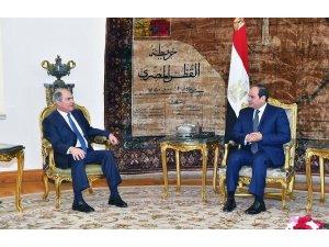 Mısır Devlet Başkanı Sisi Ürdün Başbakanı ile görüştü