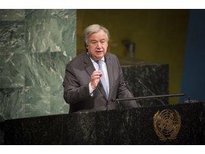 """BM Genel Sekreter Guterres: """"Suriye'de ateşkes kararına rağmen Doğu Guta'da çatışma yoğunlaştı"""""""