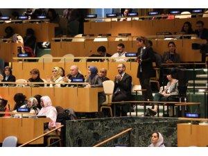 Aile ve Sosyal Politikalar Bakanı Kaya BM Genel Kurulu'nda
