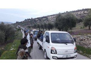 Terör örgütü PYD'den temizlenen Afrin'in köylerine dönüş başladı