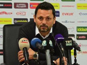 Evkur Yeni Malatyaspor Teknik Direktörü Bulut: Bir türlü top çizgiyi geçmiyor