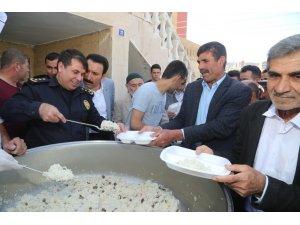 Cizre'de şehit polisler için mevlit okutuldu