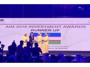 Özbekistan'ın yatırım projesine ödül